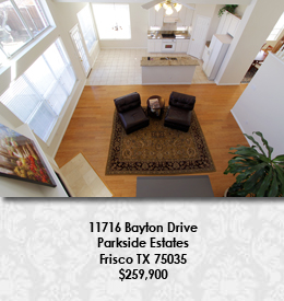 11716 Bayton Dr Parkside Estates Frisco TX 75035